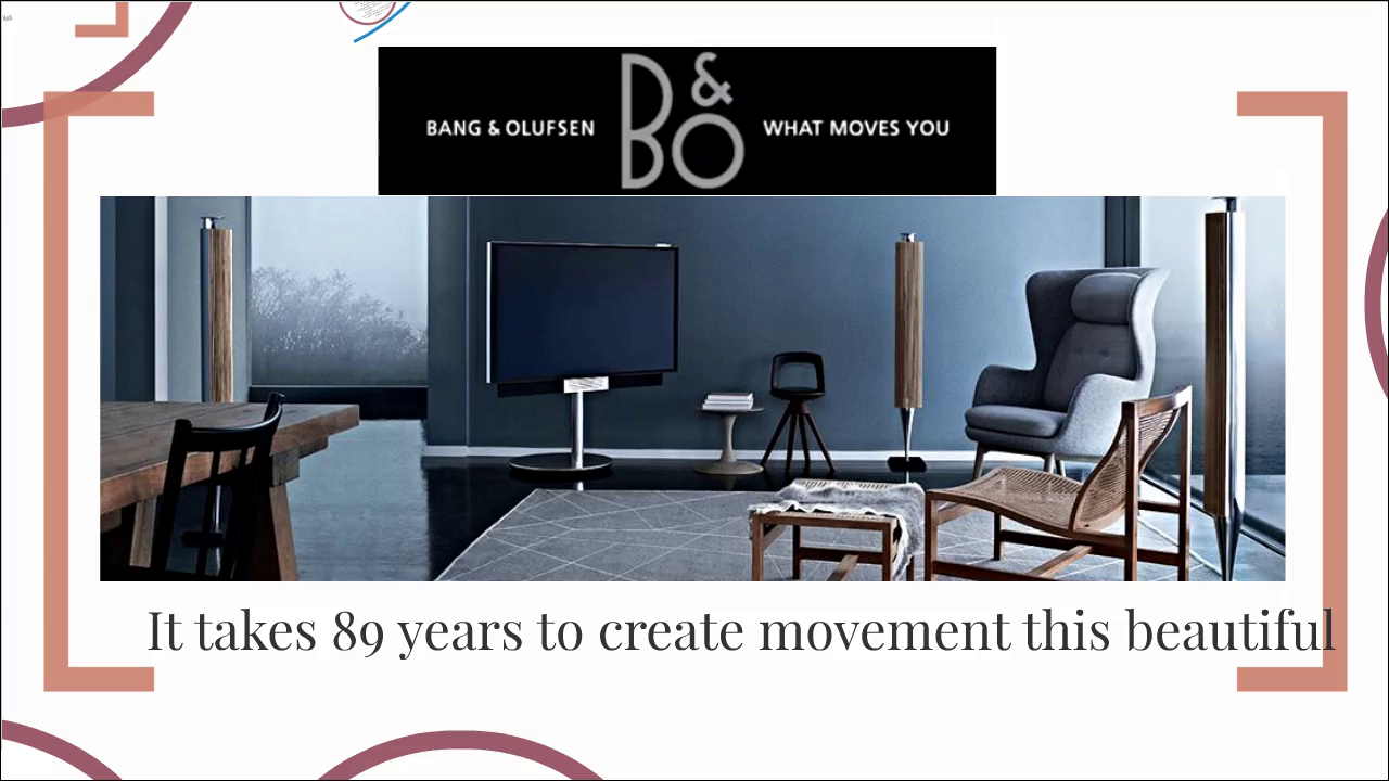 bang and olufsen design driven innovation essay Bang & olufsen: design driven innovationbhooshan parikh case study the paper contains a model-based analysis of the innovation.