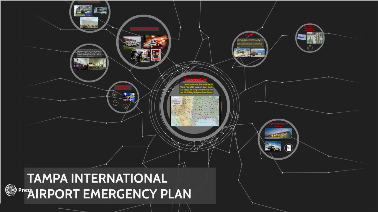 airport emergency plan