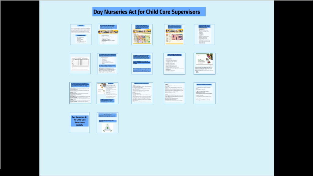 Day Nurseries Act For Child Care Supervisors Of Ontario Omnirender